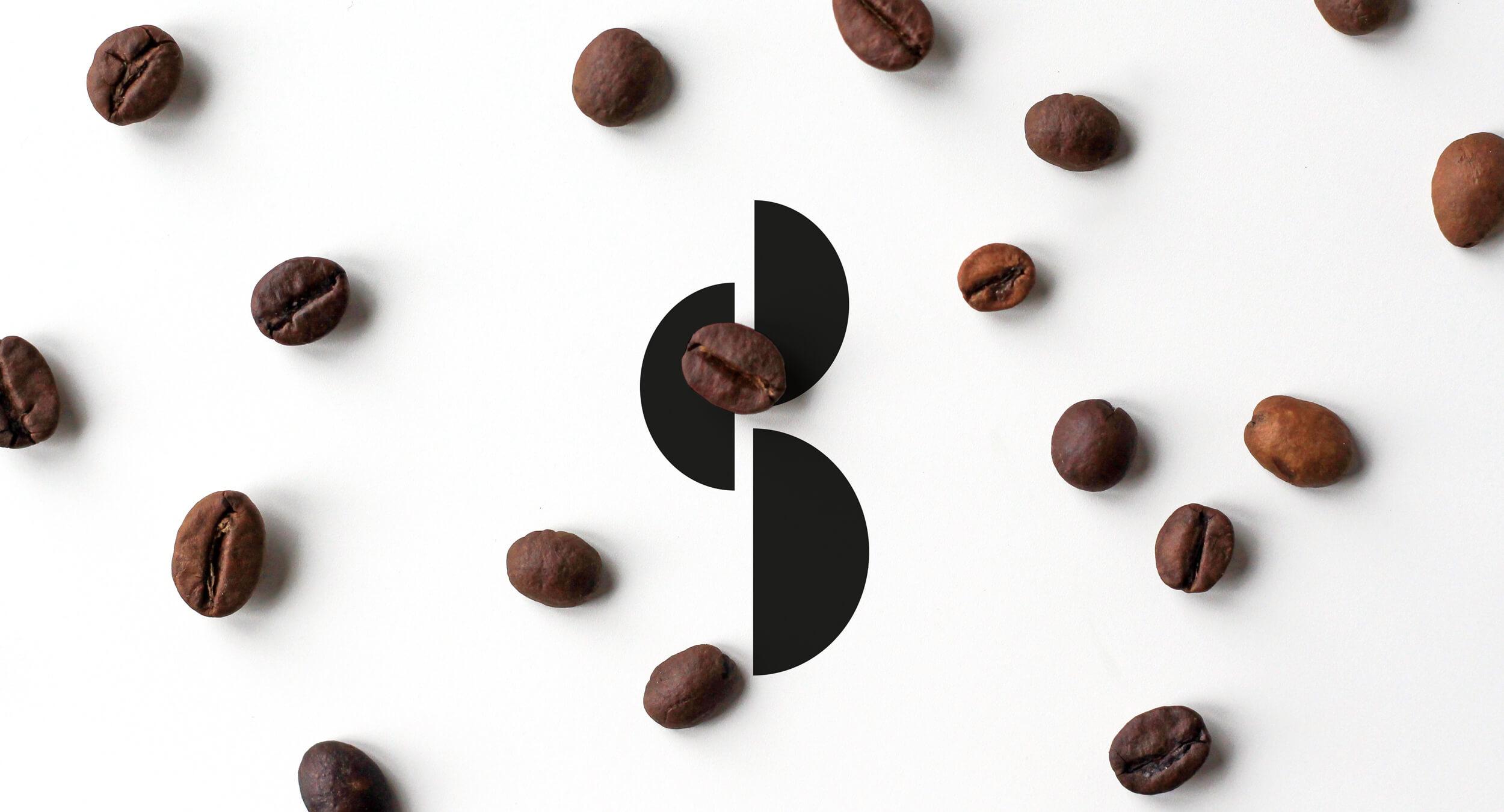 coffee shop logo design codeB