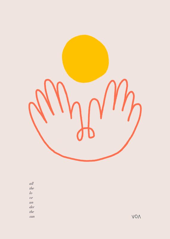 Illustration motherhood by Victoria O'May